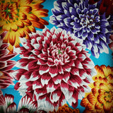 Dahlia Flowers colours Blue, White, Orange, red, lime, yellow, green