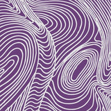 Purple background with White Swirling lines