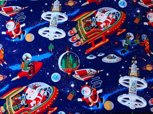 Santa in Space - Alexandra Henry - Dark Navy