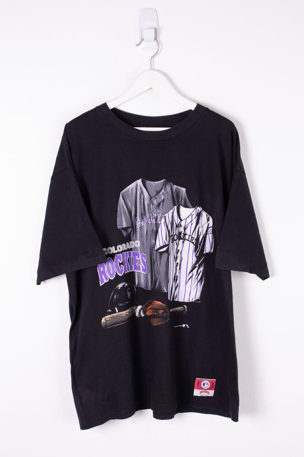 Vintage MLB Colorado Rockies Tee XXL