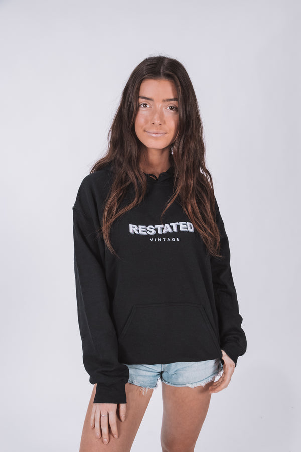 Restated Vintage Wavey Hoodie (Female)