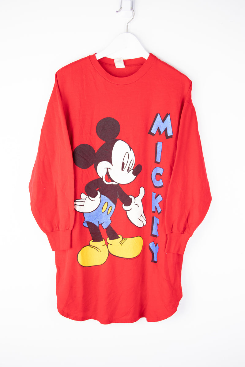 Vintage Mickey Sweater Large (tall)