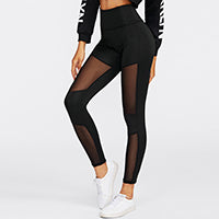 Casual Mesh Leggings