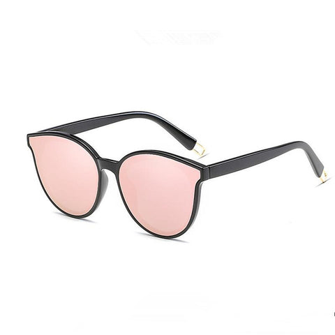 Flat Top Cat Eye Sunglasses