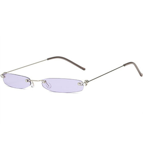 Retro Small Rectangular Sunglasses