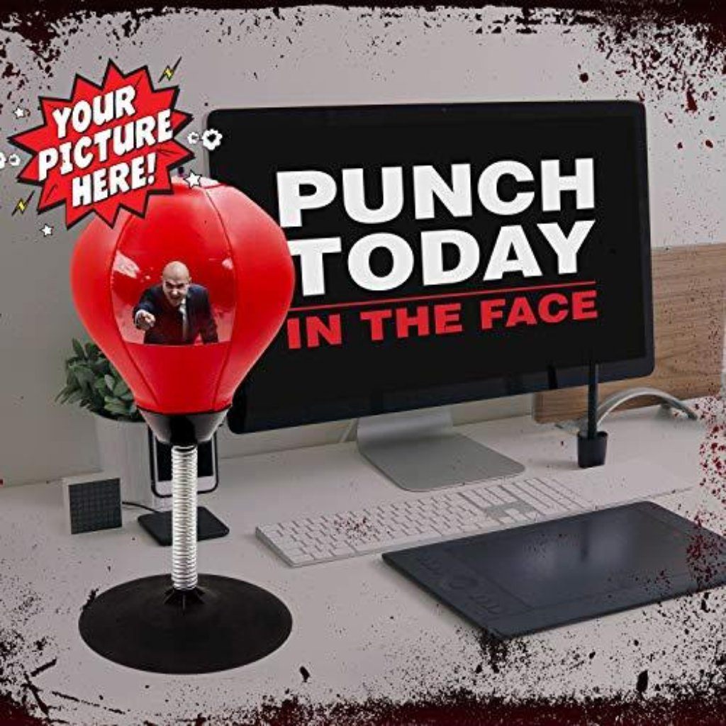 Desktop Punch Ball - HUNPER