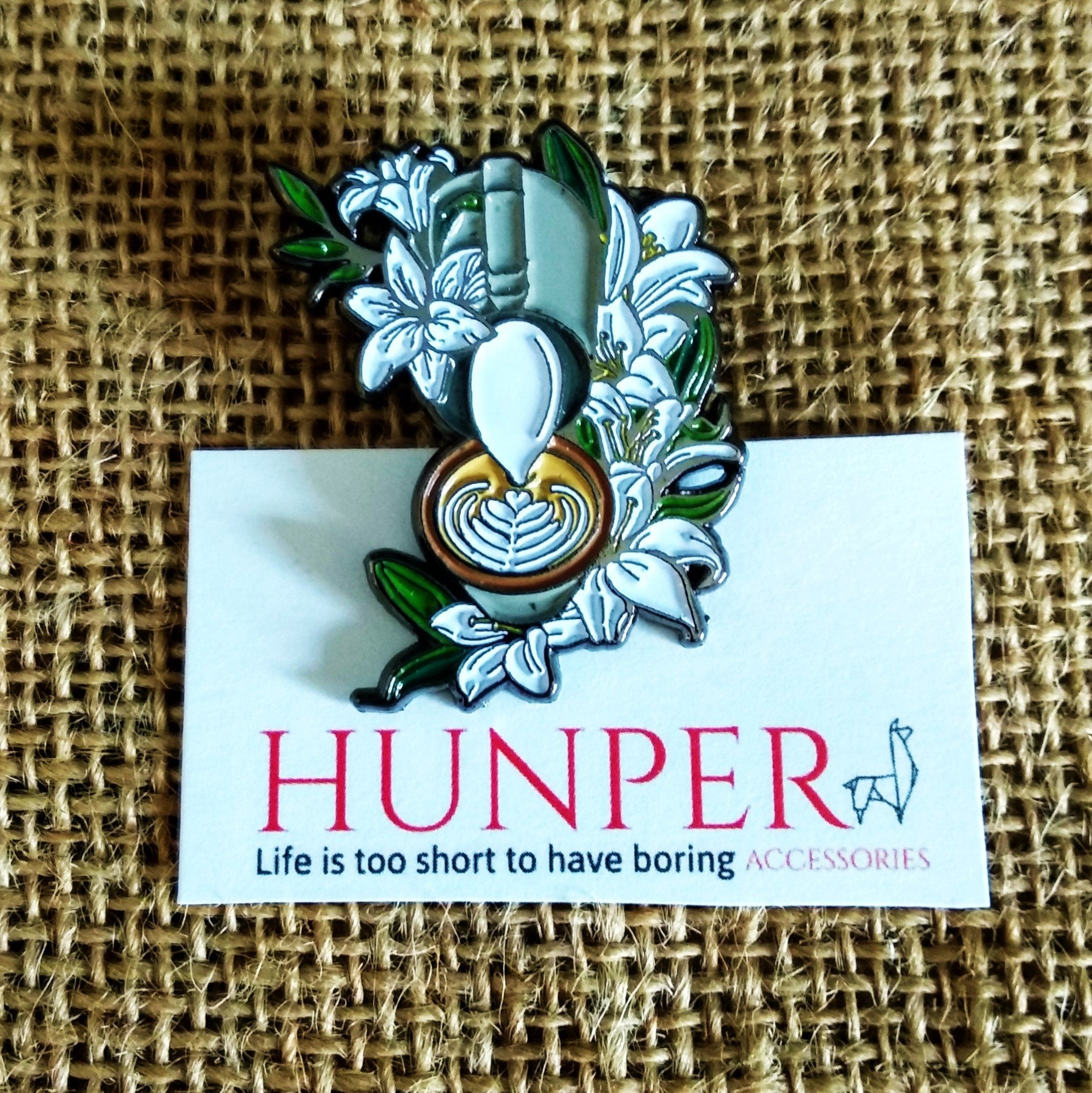 Latte Art Pin - HUNPER