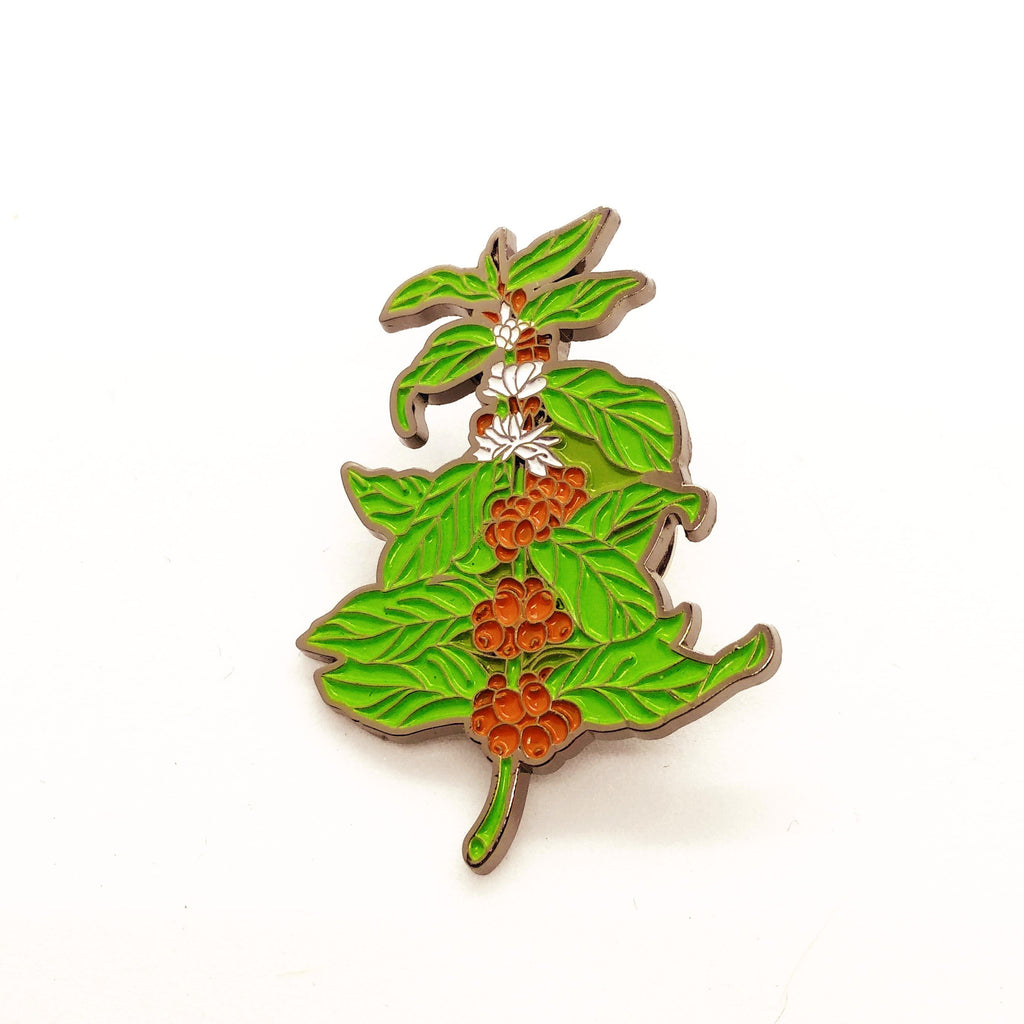 Coffee Plant Pin - HUNPER
