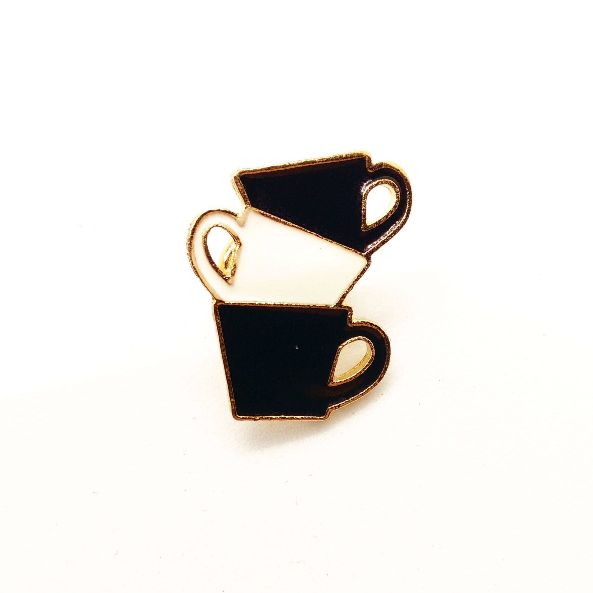 coffee cups pin