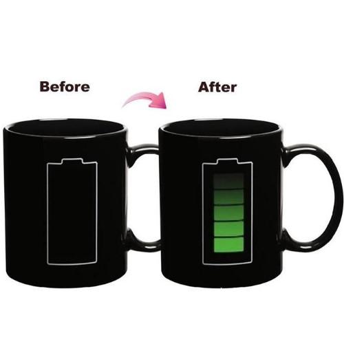 Magic Battery Coffee Mug - HUNPER