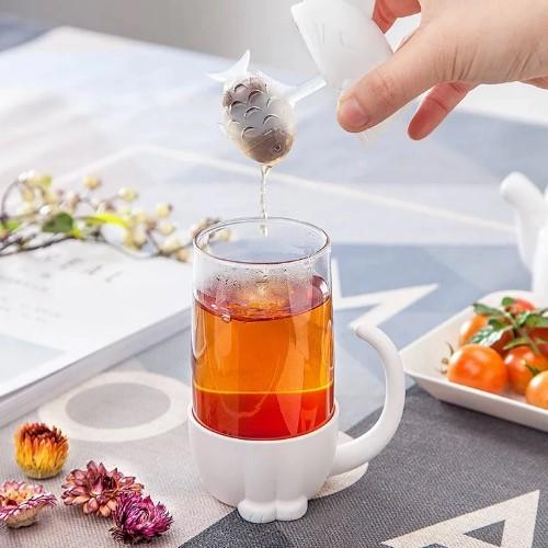 Cat Tea Infuser Mug