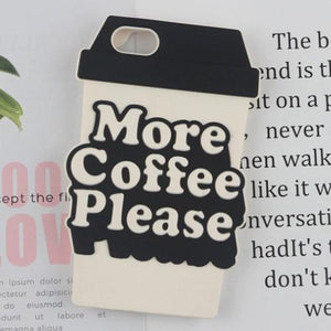 3D More Coffee Please Phone Case - HUNPER