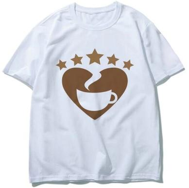 """Love Coffee"" T-Shirt - HUNPER"