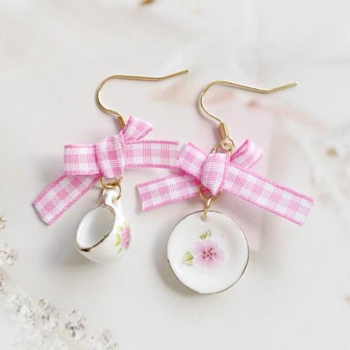 Coffee Cup Earrings - HUNPER