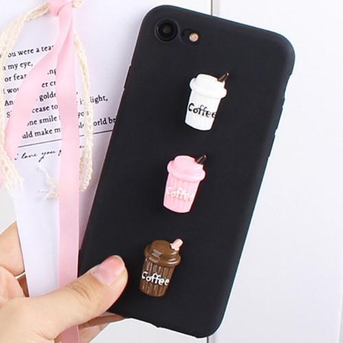 3D Coffee Phone Case - HUNPER