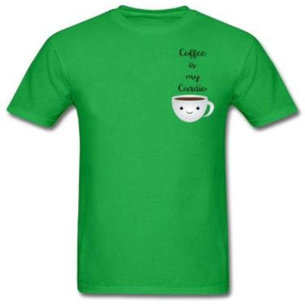 """Coffee Is My Cardio"" T-Shirt"