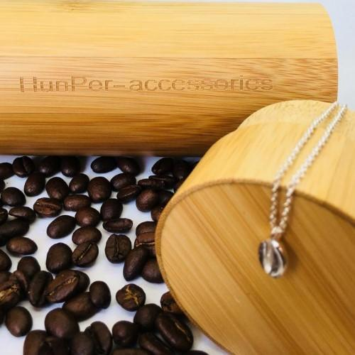 Coffee Bean Necklace - HUNPER
