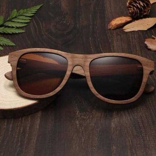 Wooden Sunglasses (Polarized&UV400) - HUNPER