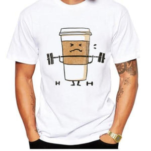 """Coffee Cup"" T-Shirt - HUNPER"
