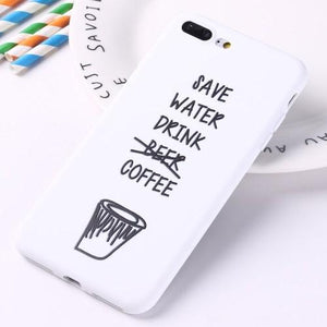 Drink Coffee Phone Case - HUNPER