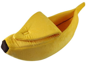 Pet Banana Bed - HUNPER