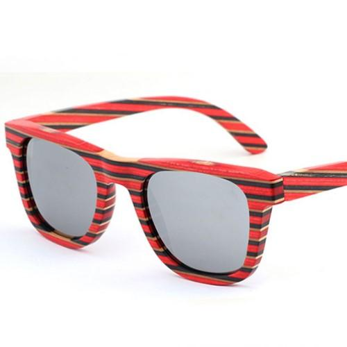 Wooden Sunglasses (UV400) - HUNPER