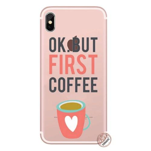 OK But First Coffee Phone Case - HUNPER