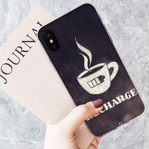 Recharge Coffee Phone Case - HUNPER