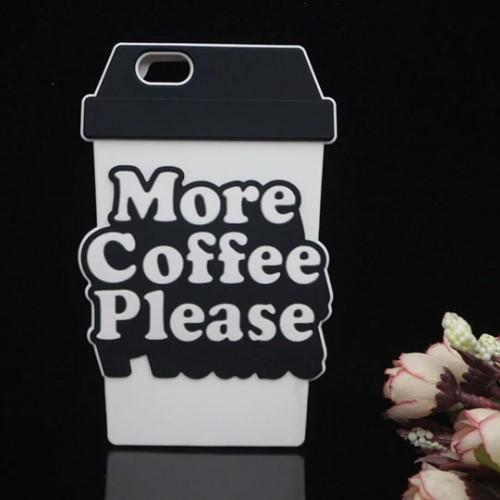 3D More Coffee Please Phone Case