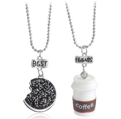 Best Friends Coffee Necklace - HUNPER