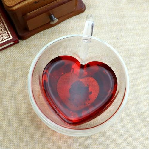 Heart Love Shaped Coffee Mug