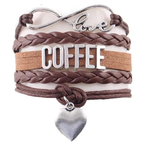 """Love Coffee"" Bracelet"