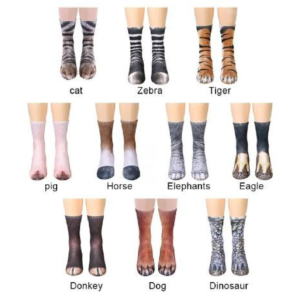 Animal Paw Socks - HUNPER