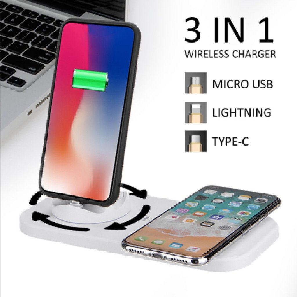 3 in 1 Wireless Charger - HUNPER