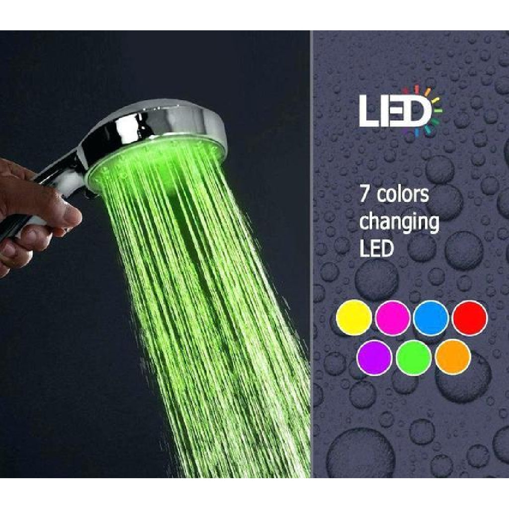 Colour Changing Showerhead