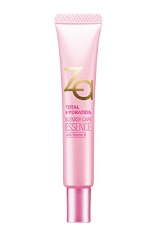ZA TOTAL HYDRATION BLEMISH CARE ESSENCE WITH VITAMIN B3 ACNE REPAIR REDUCE ACNE