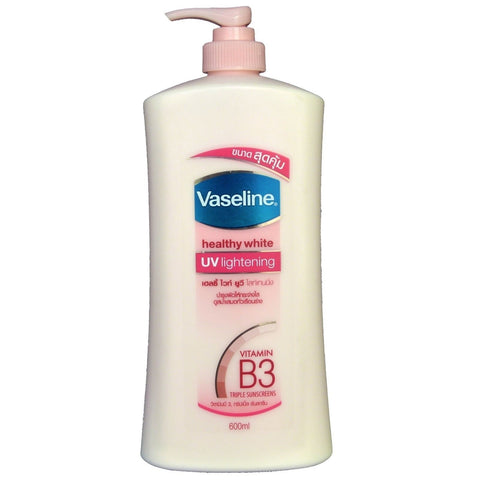 Vaseline Healthy White UV Lightening skin whitening Body Lotion 600ml