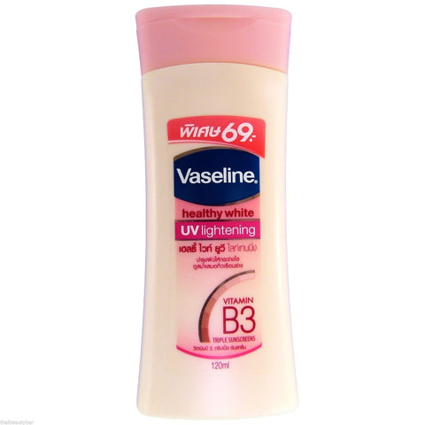 Vaseline Healthy White UV Lightening Body Lotion 120ml