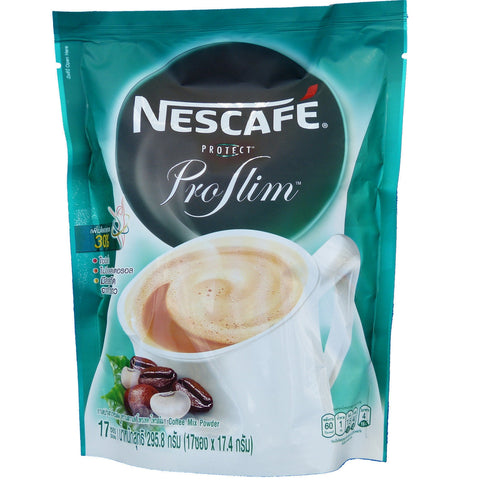 Nescafe Protect ProSlim Instant Diet Coffee for Weight Management 17 Sticks