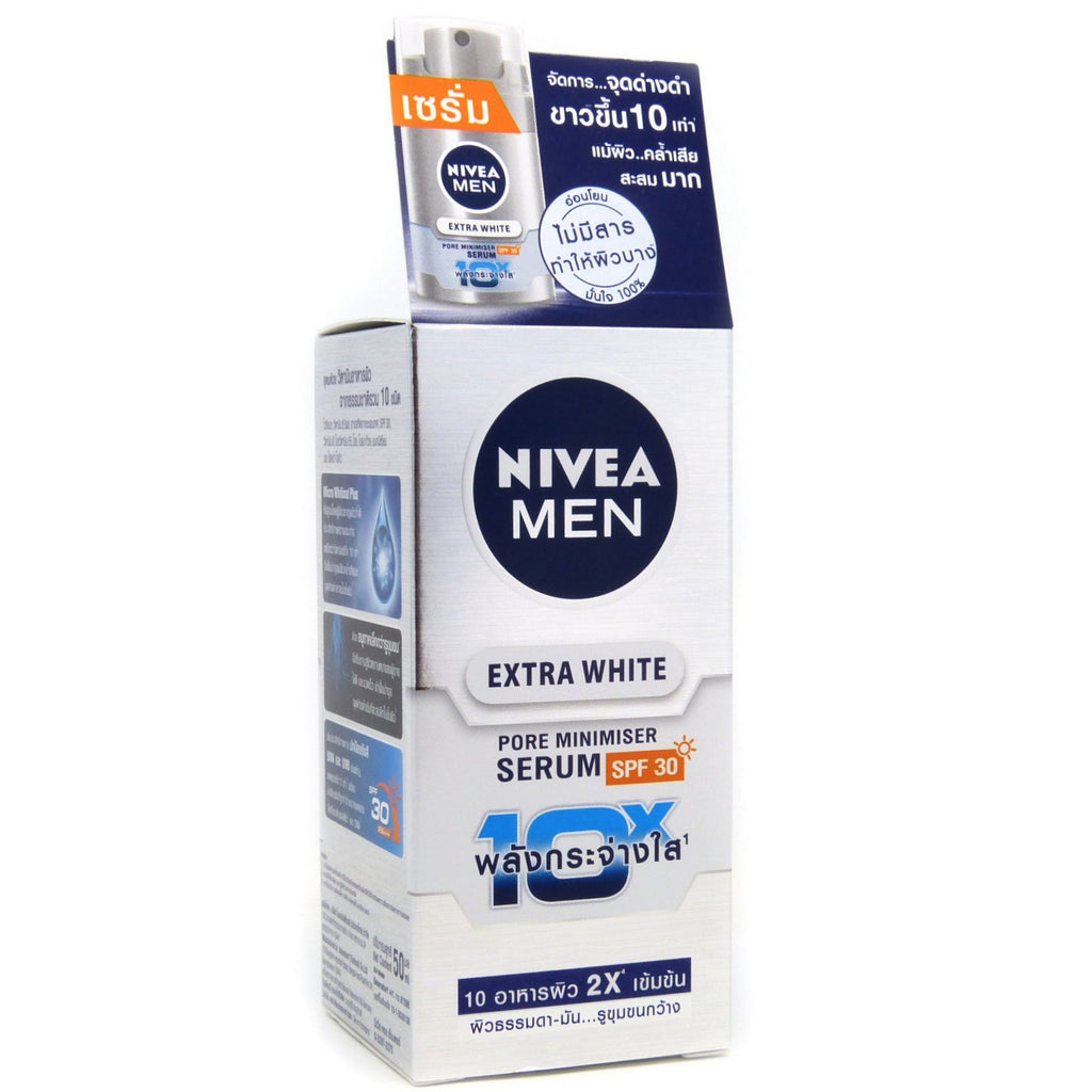 Nivea Men Extra Skin Whitening Pore Minimizer Serum Spf 30 50ml