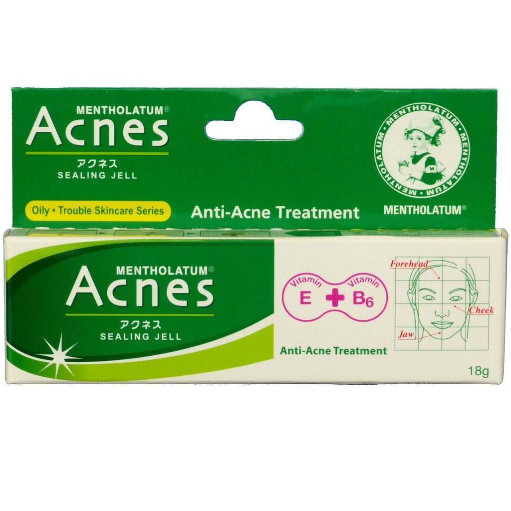 Mentholatum Acnes Sealing Jell Anti Acne Treatment Gel 18g Thai