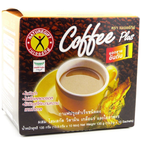 Naturegift Coffee Plus Original Ginseng Formula - 10 sachets