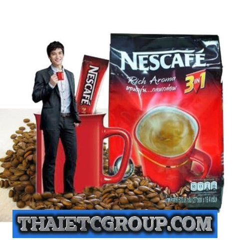 ORIGINAL NESCAFE 3 IN 1 TASTE INSTANT COFFEE MIX POWDER