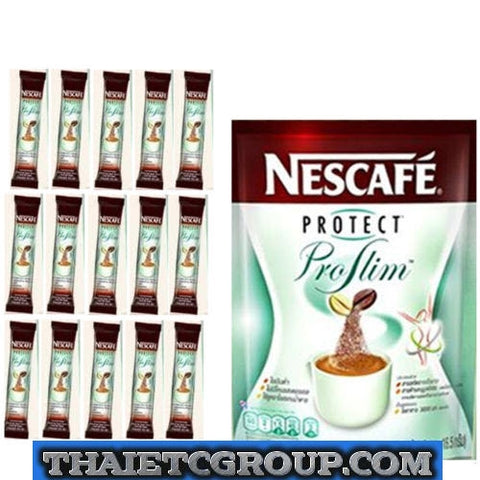 NESCAFE PROTECT PROSLIM DIET SLIMMING COFFEE 15 SACHETS