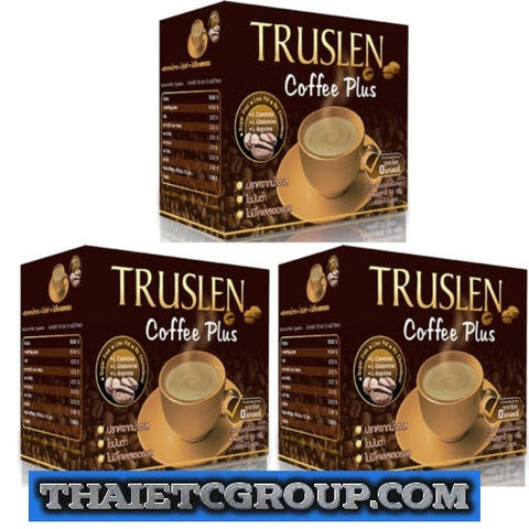 3 TRUSLEN PLUS Instant Slimming Coffee weight management drink Diet Weight loss
