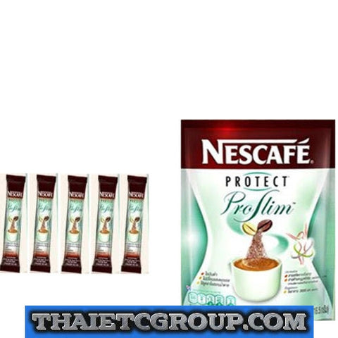 NESCAFE PROTECT PROSLIM INSTANT COFFEE 3 IN 1 DIET SLIMMING COFFEE 5 SACHETS