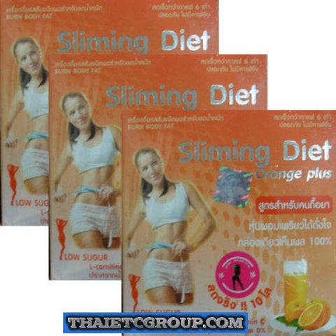 3 Sliming Diet Orange Plus for Non coffee drinkers weight loss lose weight drink
