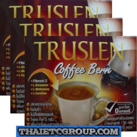 3 TRUSLEN Bern Instant Slimming Coffee weight management drink Burn No Calories