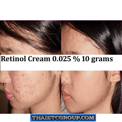 10g RETINOL VITAMIN A CREAM compatible with Retin ol Acne Anti wrinkles (0.025)