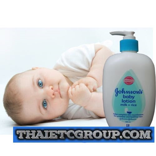 Johnson Johnson S Baby Body Milk Cream Lotion Skin Care Moisturizer Thai Etc Group Online Thai Supermarket